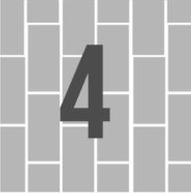 4. Vertical Running Bond