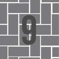 9. Straight Herringbone